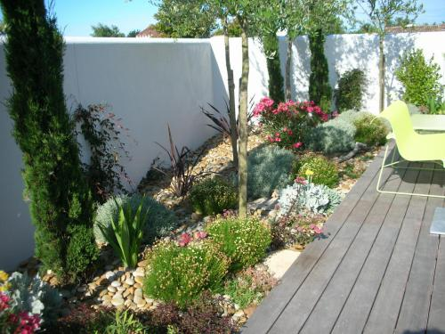 jardin galets